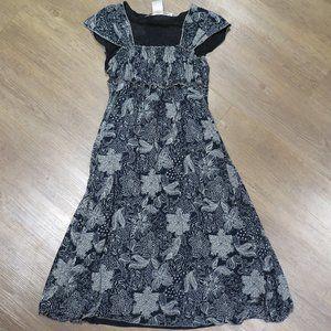 Very soft Blue Floral Dress Max Mara